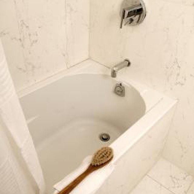 how to install a steel bathtub
