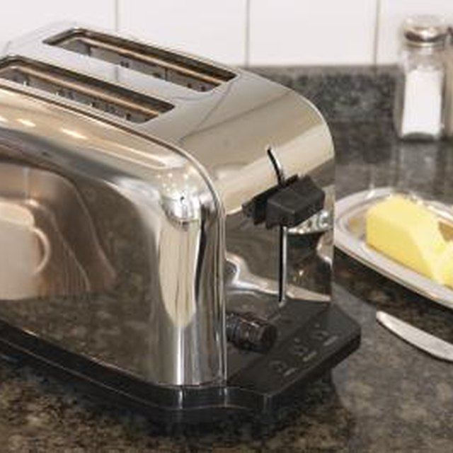 Stainless Steel Toaster Cleaning