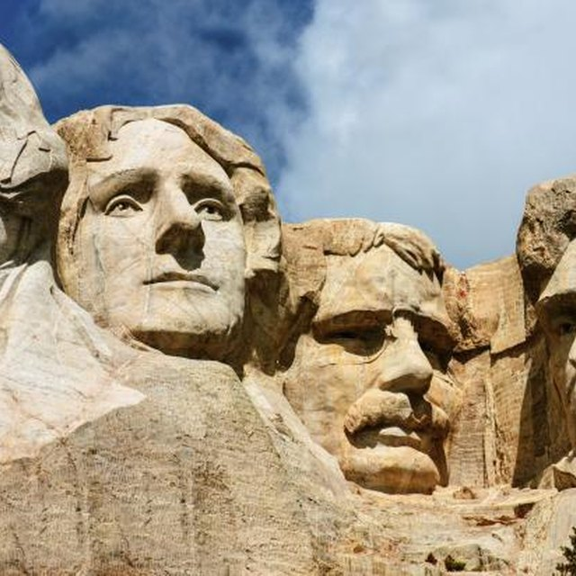 Kids' Projects on Mt. Rushmore