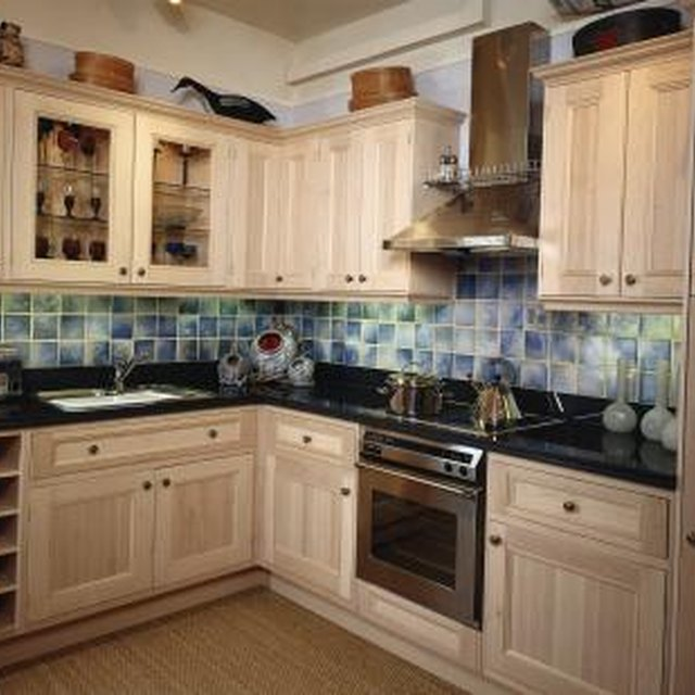 Can You Stain Prefabricated Cabinets?
