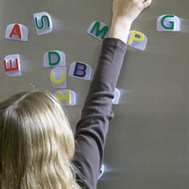 How to Teach Special Needs Students the Alphabet