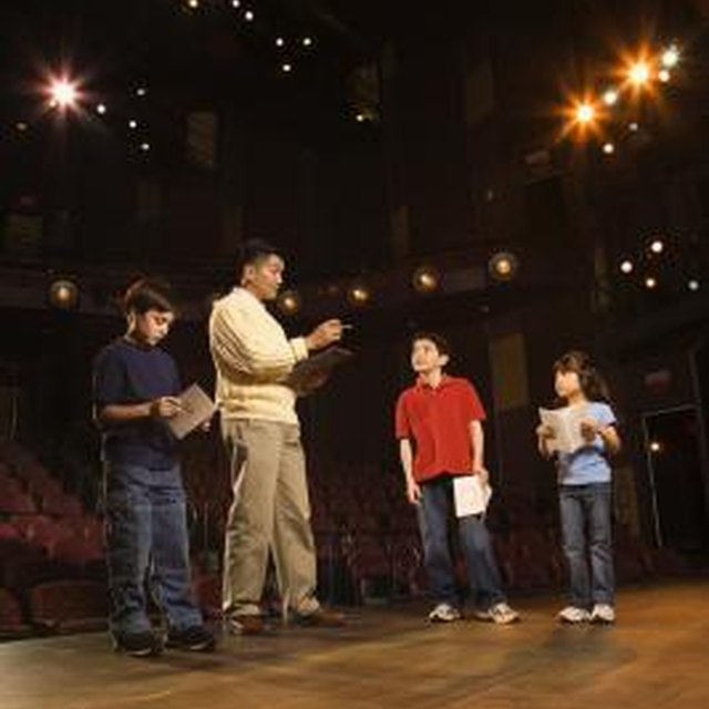 Teaching Kids Basic Drama or Theatre Skills