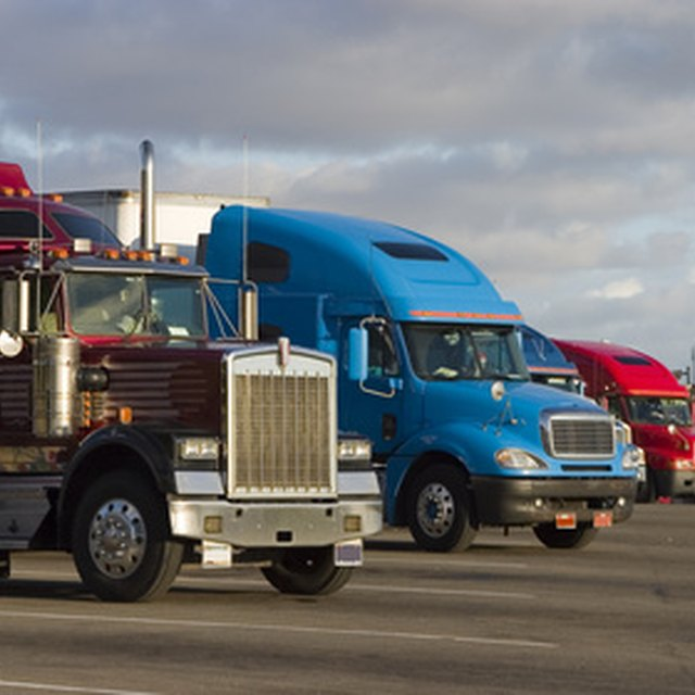How to Lease Big Rig Trucks