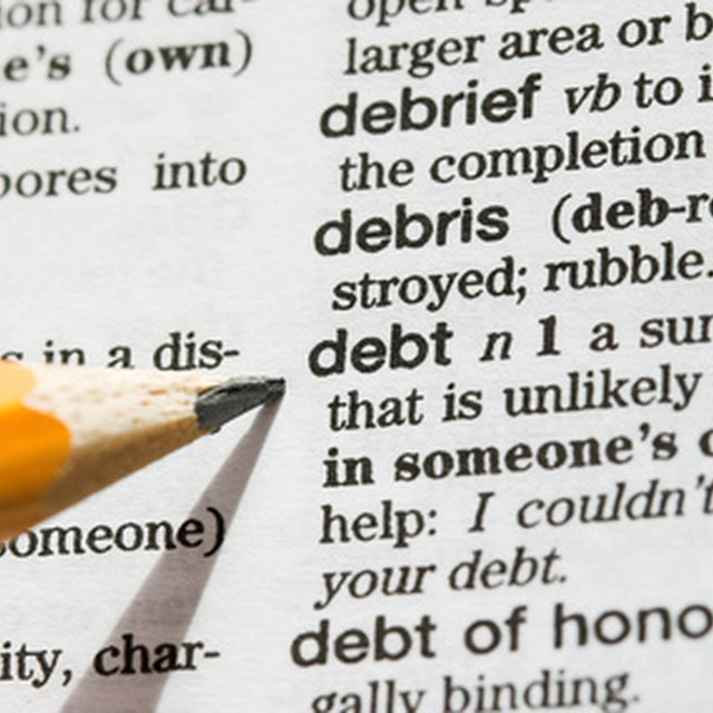 Debt Maturity Definition