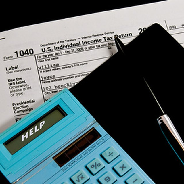How to Add Up Your Taxes