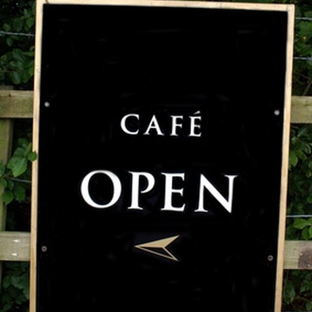 Checklist for Opening a Coffee Cafe