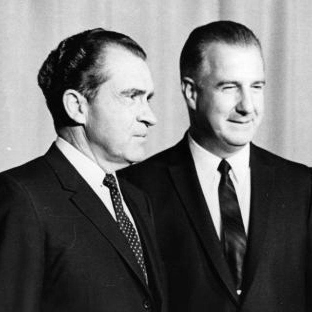 Who Was Richard M. Nixon's Running Mate?
