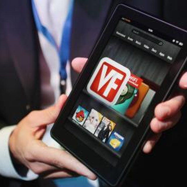 How to Transfer Contents From a Kindle Touch to a Kindle Fire HD
