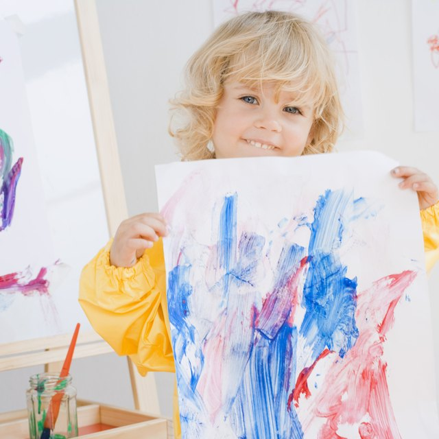 Paintings to Do With 2 Year Olds