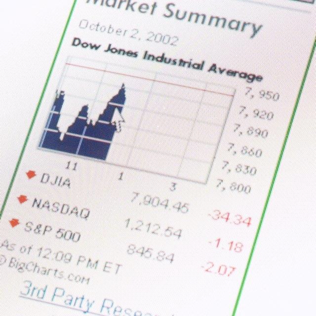 Components of the Dow Jones