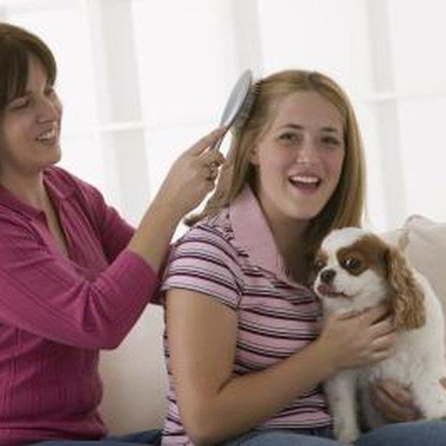 Hairspray Buildup Removal