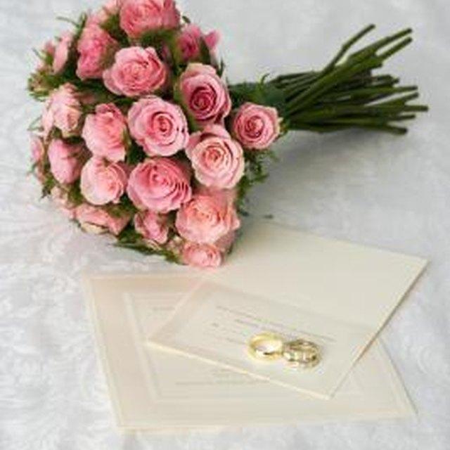 Wedding Etiquette for Name Order