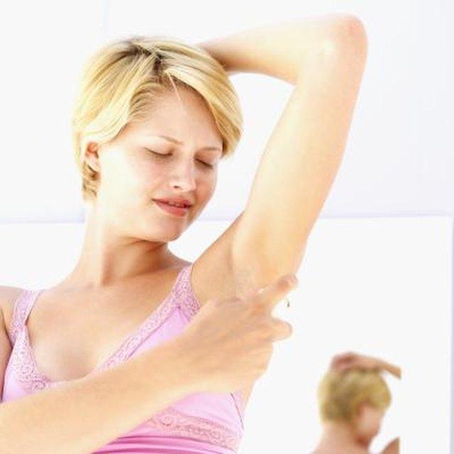 DIY Waxing Underarms