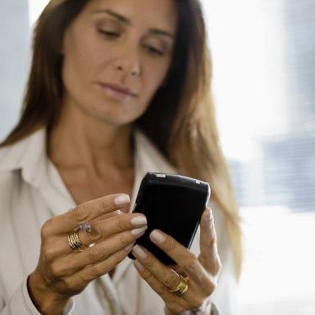Sending a BlackBerry Text Message Conversation to a Mac