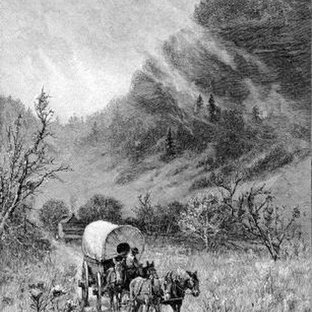 What Drew Americans Westward in the Late 1700s & the Early 1800s?
