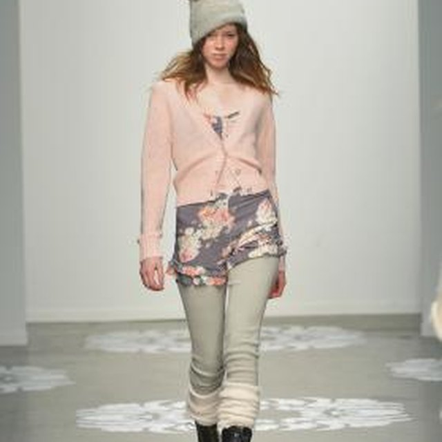 What Goes Under a Light Pink Cardigan?