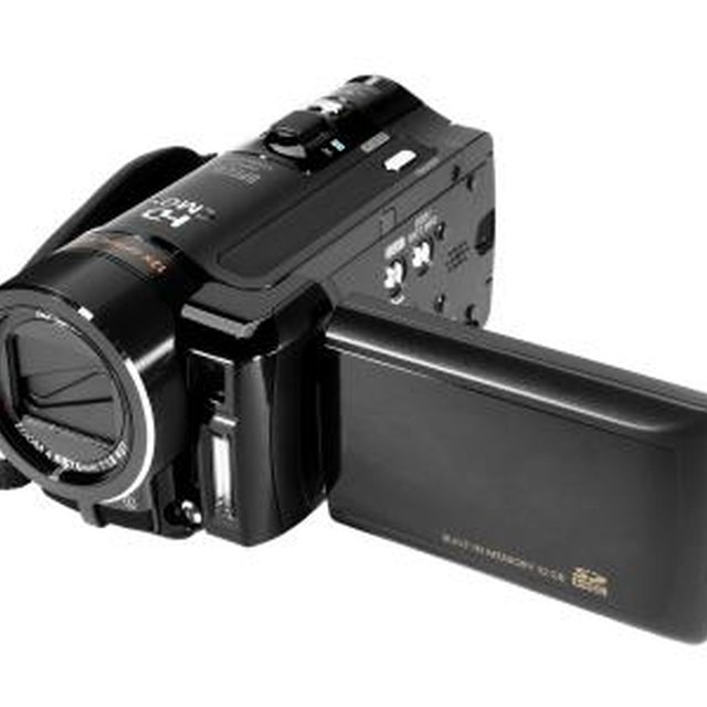 Can a Camcorder Be Used As a Web Cam?