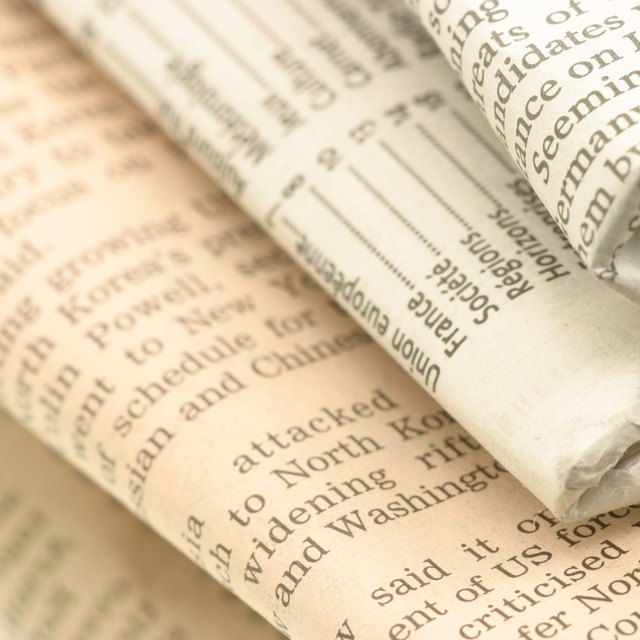 How to Use Newspapers to Teach Reading & Writing Skills