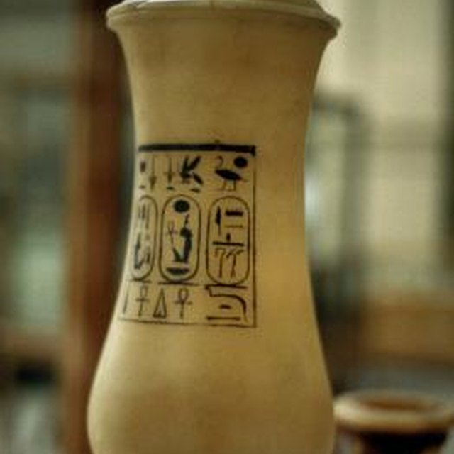 What did Ancient Egyptians Put Body Parts In?