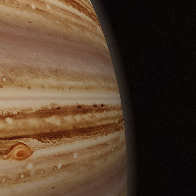 What Types of Landforms Are Found on Jupiter?