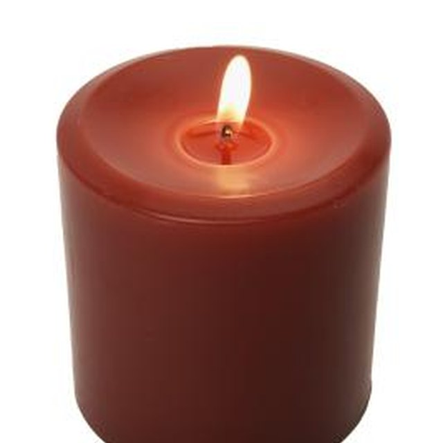 The Meaning of a Red Candle on the Altar of a Catholic Church