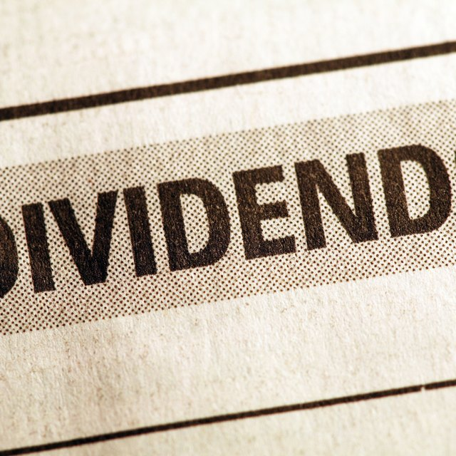 How to Find Dividends With Total Revenue & Expense