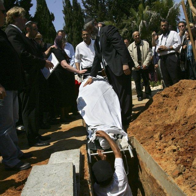 Jewish Burial & the Participation of Non-Jews