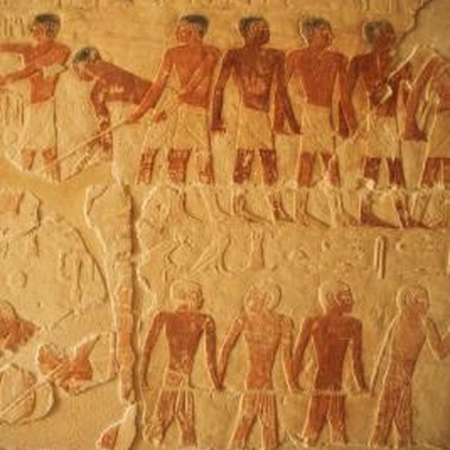 Celebrating and Ancient Egyptian People