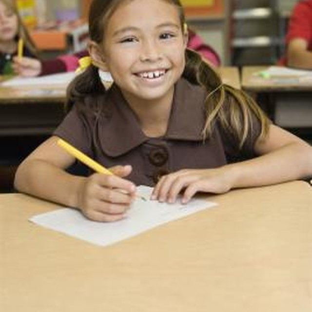 How to Write an Introductory Paragraph in Elementary School