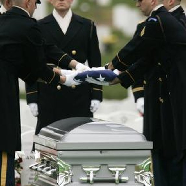The Significance of Shell Casings in a Burial Flag