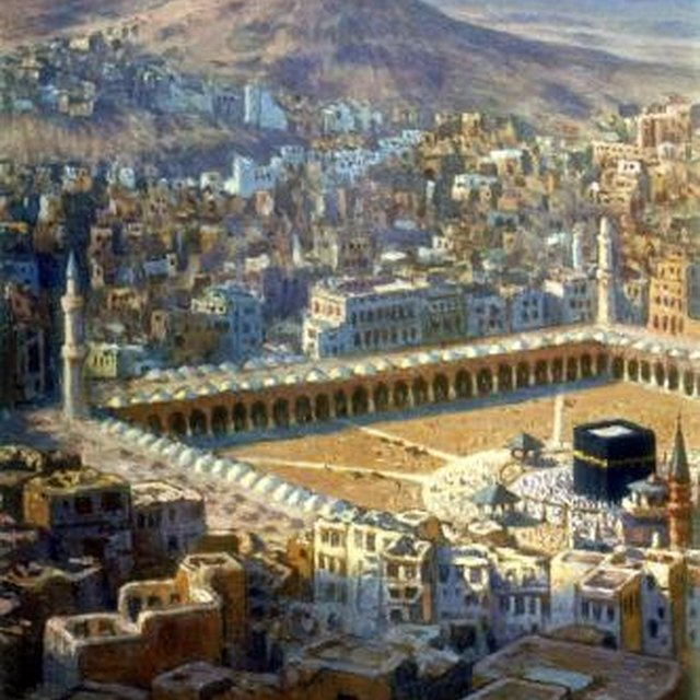 Important Muslim Holy Sites in Saudi Arabia