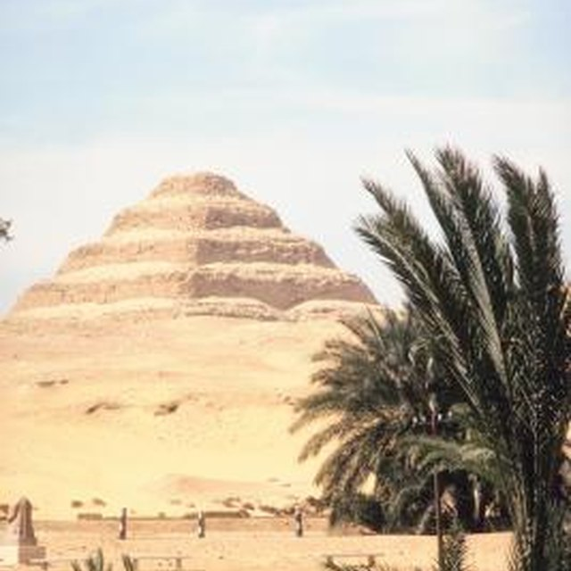 What Was the First Type of Pyramid in Ancient Egypt?