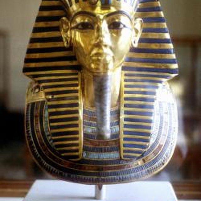 Ancient Pharaoh Tutankhamun's Tomb Treasure in Egypt