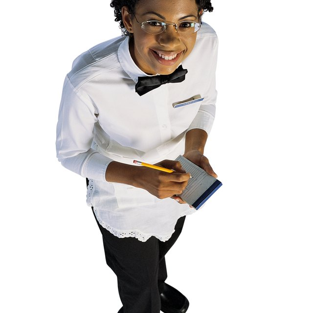 What Is Tax Deductible as a Waitress?