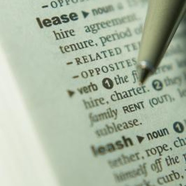 How to Write a Letter to Tenants Who Have Broken a Lease