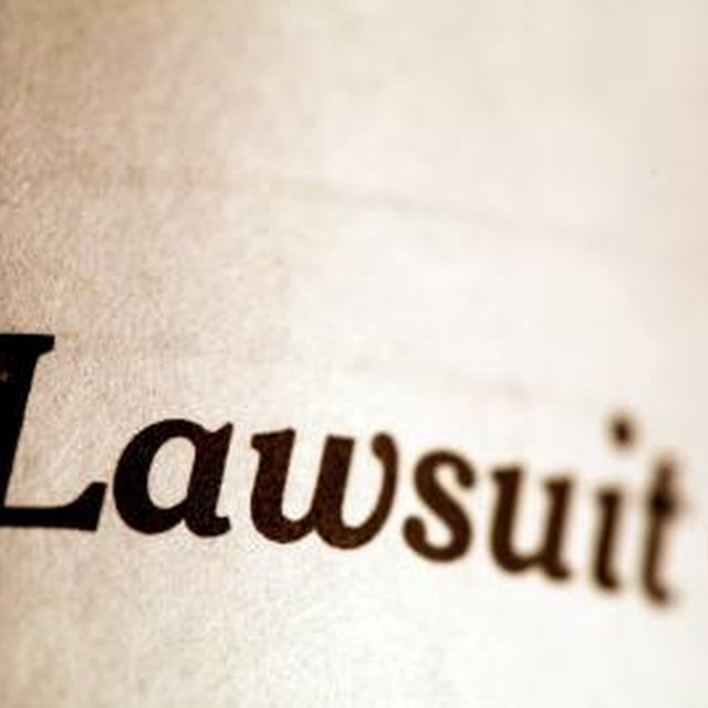 How to Deduct a Legal Settlement