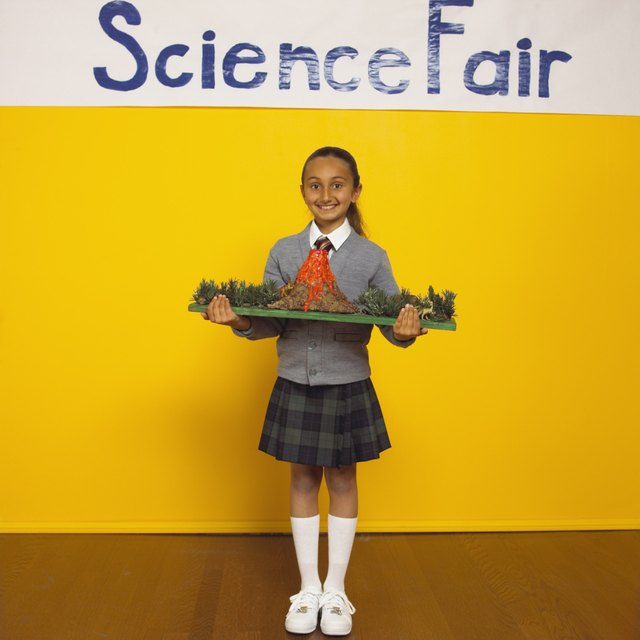 Volcano Science Fair Project For Kids