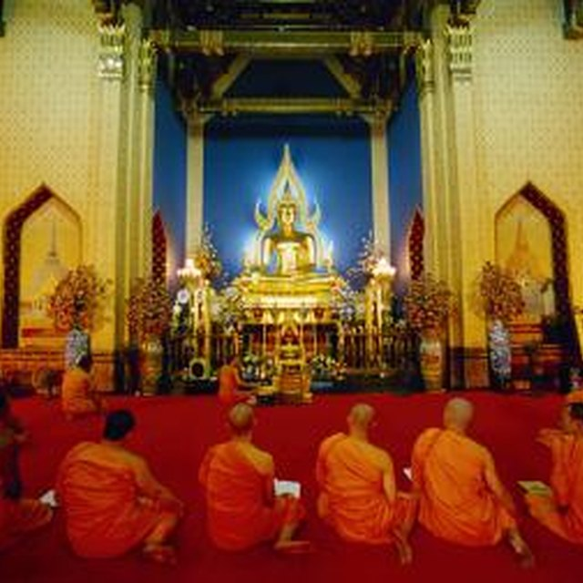 What Is the Collection of Ancient Scriptures Used by Theravada Buddhists?