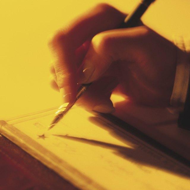 How to Get Ink Flowing in Ink Pen