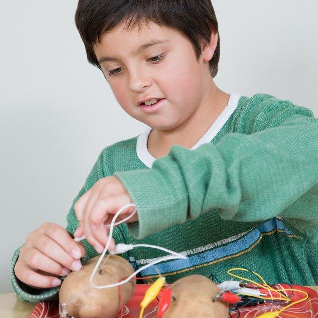 Potato Light Bulb Experiment for Kids | Sciencing
