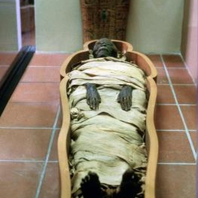 The Burial Process of Ancient Egyptian Pharaohs