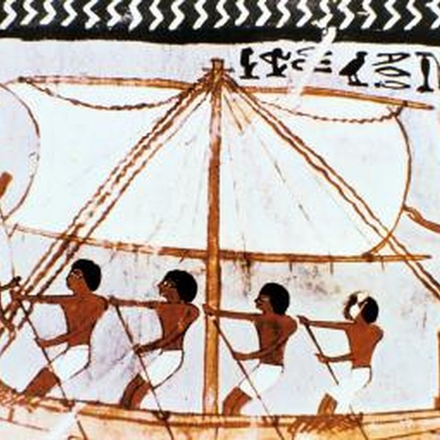 Ships in Ancient Egypt