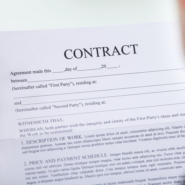 What Does it Mean to Tender a Contract?