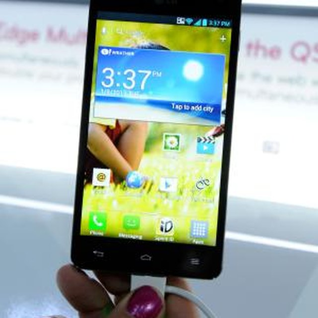 How to Clear the Cache on an LG Optimus Phone
