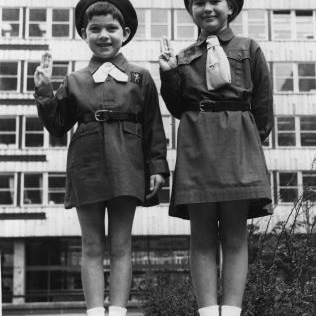 Brownie Girl Scout Uniforms in the 1960s