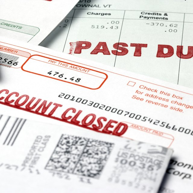 How to Send an Overdue Bill to the Collection Agency