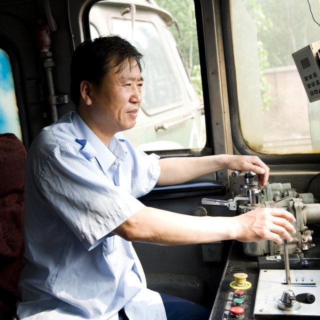 The Average Salary of Train Drivers