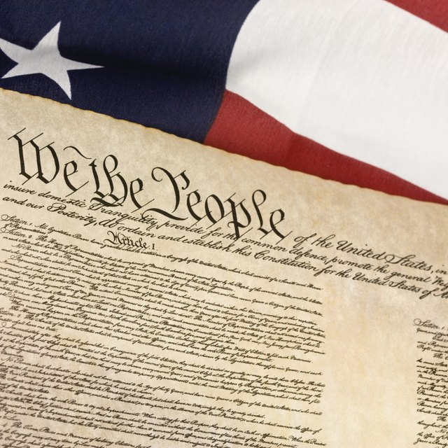 What Are the Words in the Preamble of the Constitution?