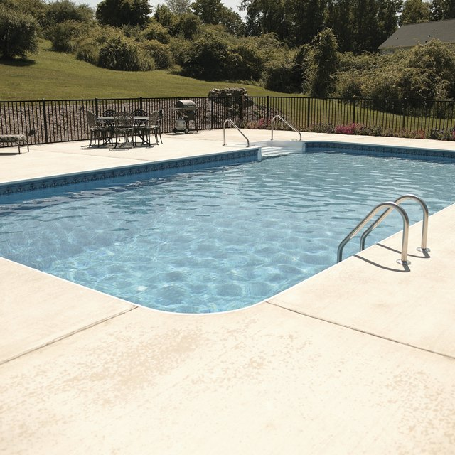 How to repair a concrete swimming pool our everyday life - Pool shock how long before swimming ...