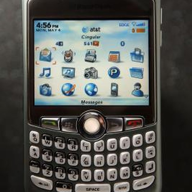 How to Reset a Security Password on a BlackBerry Curve